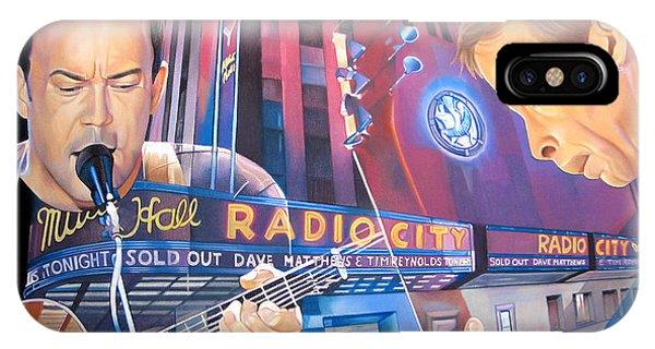 Dave Matthews And Tim Reynolds Live At Radio City IPhone Case