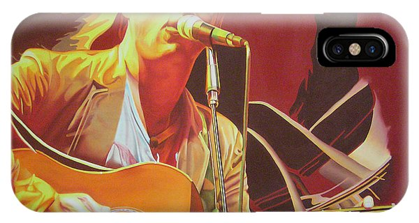 Dave Matthews At Vegoose IPhone Case