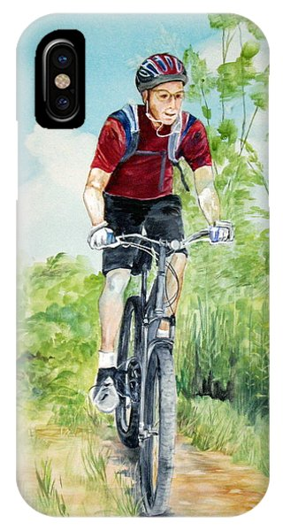 Dave On The Trail IPhone Case