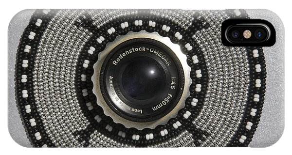 IPhone Case featuring the mixed media Camera Lens by Douglas K Limon