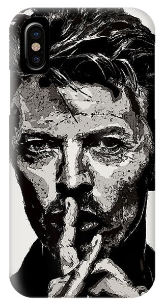 David Bowie - Pencil IPhone Case