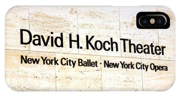 David H. Koch Theater IPhone Case