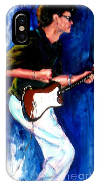 David On Guitar IPhone Case