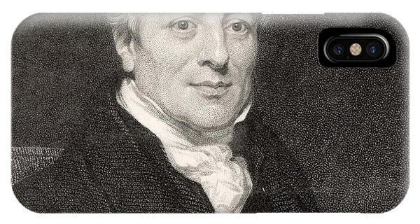 David Ricardo  Economist        Date Phone Case by Mary Evans Picture Library