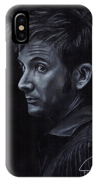 David Tennant 3 Phone Case by Rosalinda Markle