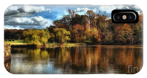 Davidson Mill Pond 2 Phone Case by Louise Reeves