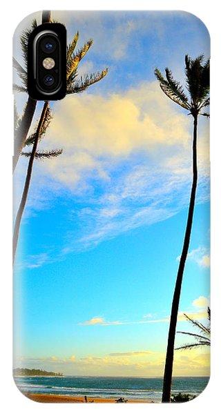 Dawn And Palms Kauia - Hawaii IPhone Case