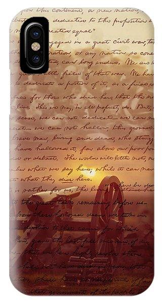 Dawn At Gettysburg IPhone Case