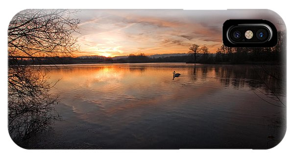 Dawn At Haysden IPhone Case