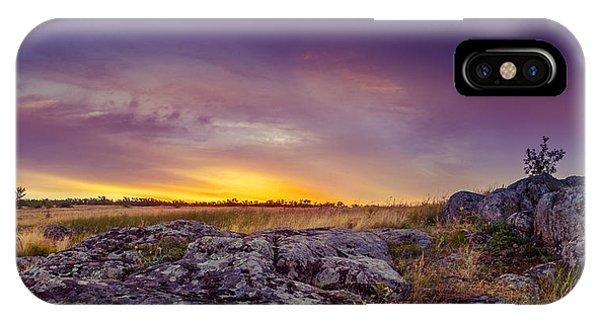 Dawn At Steppe IPhone Case
