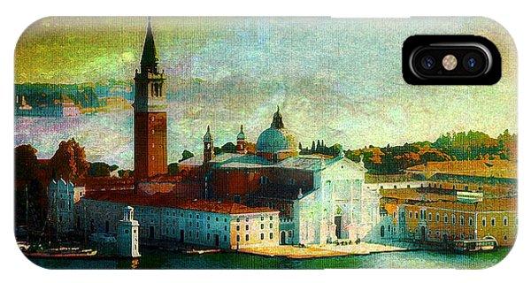 Dawn San Giorgio Maggiore IPhone Case