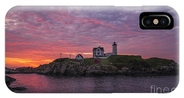 New England Coast iPhone Case - Dawn At The Nubble by Steven Ralser