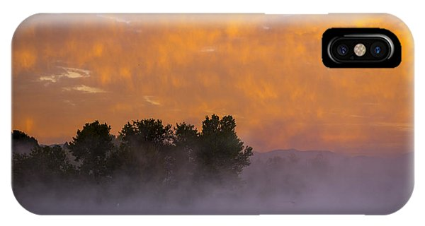 Dawn At The Sepulveda Dam Wildlife Reserve IPhone Case
