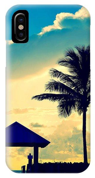 Dawn Beach Pyramid IPhone Case