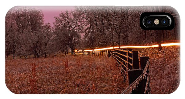 Catoctin Mountain Park iPhone Case - Dawn In Catoctin Hollow by Donald Frame