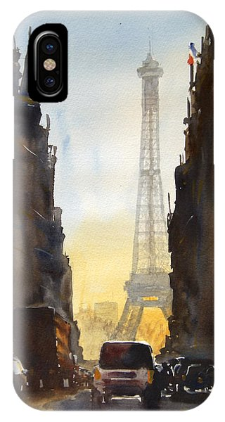 France iPhone Case - Dawn In Paris by James Nyika