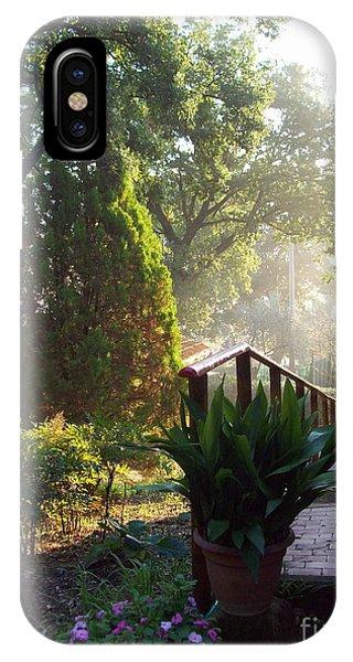 Dawn In Podere Maria-cristina IPhone Case
