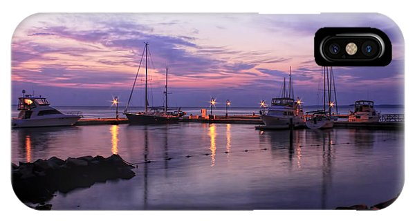 IPhone Case featuring the photograph Dawn In Yorktown Virginia by Ola Allen