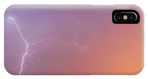Dawn Lightning IPhone Case