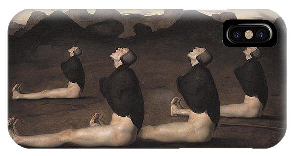 Figurative iPhone Case - Dawn by Odd Nerdrum