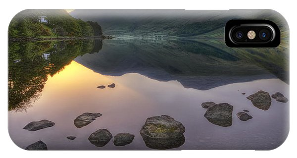 Pond iPhone Case - Dawn Of A New Day by Evelina Kremsdorf