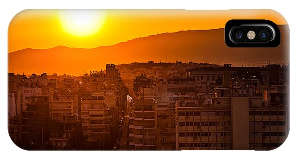 IPhone Case featuring the photograph Dawn Over Athens by Brad Brizek