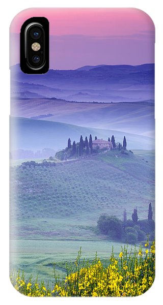 Dawn Over Belvedere IPhone Case