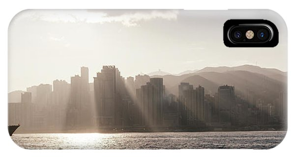 Dawn Over Central Business District IPhone Case