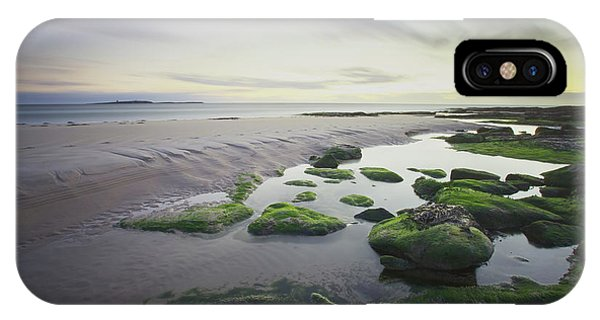 Shore iPhone Case - Dawn Over Seahouses Beach by Ray Cooper