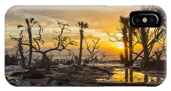 Dawn Silhouettes 06 IPhone Case