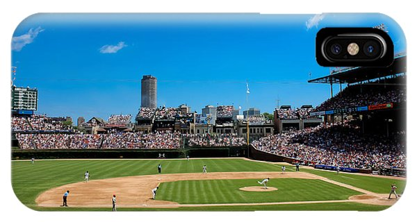 Chicago iPhone Case - Day Game At Wrigley Field by Anthony Doudt