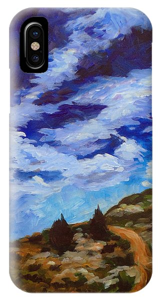 Day Hike Phone Case by Susan Moore