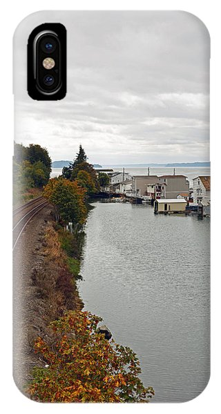 Day Island Bridge View 2 IPhone Case