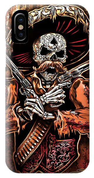Day Of The Dead Gunslinger IPhone Case