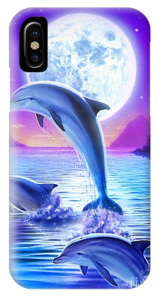 Day Of The Dolphin IPhone Case