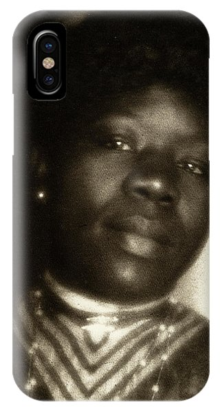 Fred Hampton iPhone X Case - Day Woman, C1905 by Granger