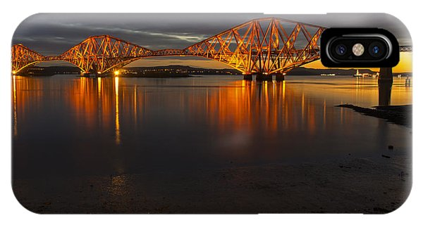 Daybreak At The Forth Bridge IPhone Case