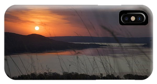 Daybreak On Glen Lake IPhone Case