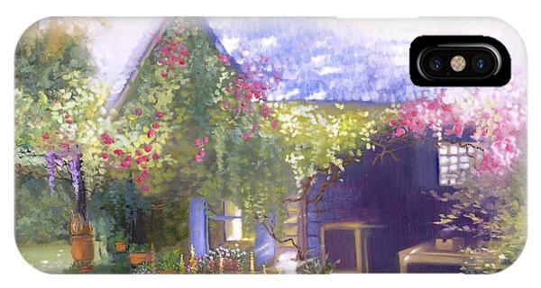 Daylesford Cottage IPhone Case