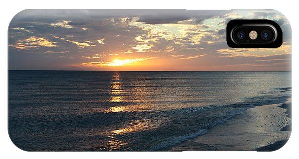 Days End Over Sanibel Island IPhone Case