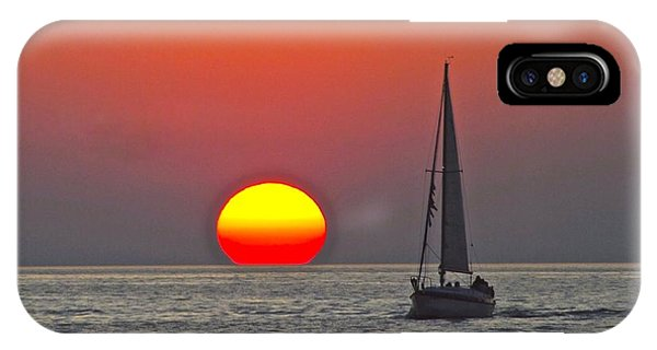 Port Orange iPhone Case - Days End by Frozen in Time Fine Art Photography