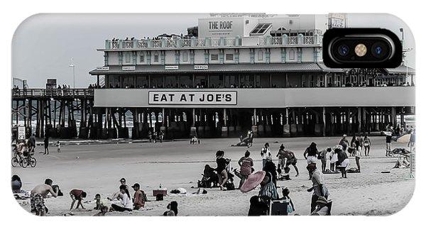 Daytona Beach Pier IPhone Case