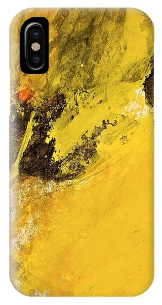 IPhone Case featuring the painting Dazed Days Of Purple Haze by Cliff Spohn
