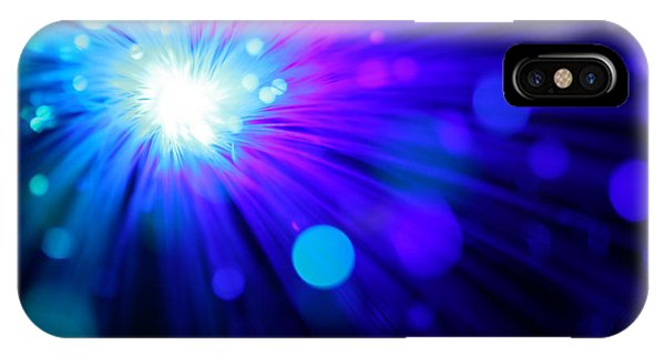Dazzling Blue IPhone Case