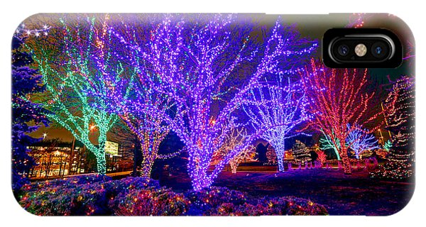 Dazzling Christmas Lights IPhone Case