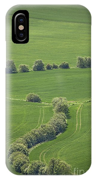 English Countryside iPhone Case - Dazzling Green by Evelina Kremsdorf