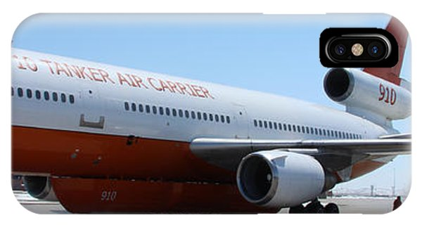 Dc-10 Air Tanker At Rapid City IPhone Case