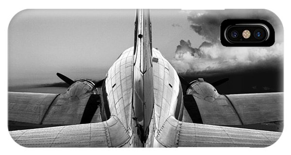 Dc-3 Rear View 1 Phone Case by Maxwell Amaro