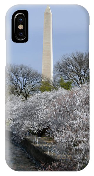 Dc Blossoms Phone Case by Kelvin Booker