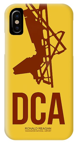 Dca Washington Airport Poster 3 IPhone Case